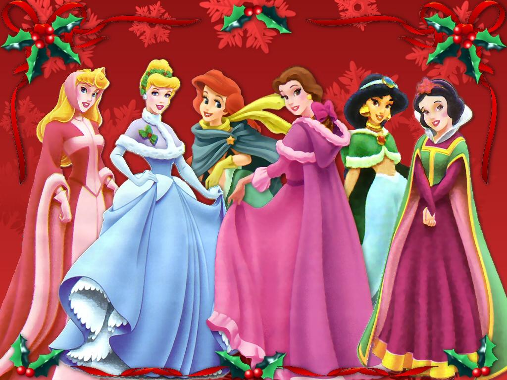 Fondos hd princesas de disney con vestidos navideos 1024x768 click para descargar en 1024x768 altavistaventures Choice Image