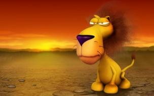Fondo de pantalla leon