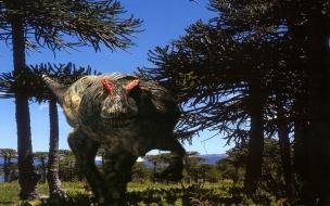 Fondo de pantalla tiranosaurio rex
