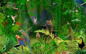 Fondo de pantalla jungla