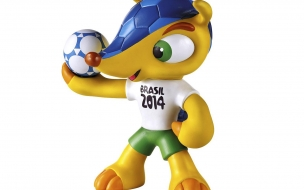 Mascote da Copa Fuleco