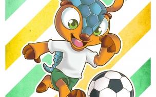 Fuleco Mascota del Mundial por Ryoneto