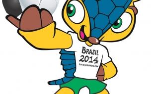Fondo hd de Fuleco Mascota del Mundial 2014