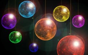Fondos de pantalla bolas de colores