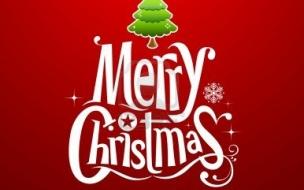 Fondos hd fondo rojo Merry Christmas