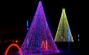 Adventure Park Christmas Lights