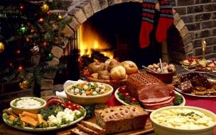 Fondos hd cena navideña