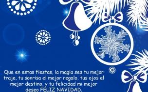 Fondos hd mensaje navideño