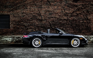 2012 Porsche 911 997 Turbo S Cabriolet wallpaper