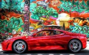Ferrari HDR Wallpaper