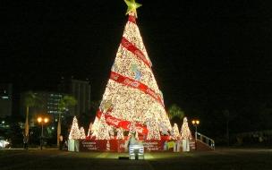 Arbol de navidad cocacola