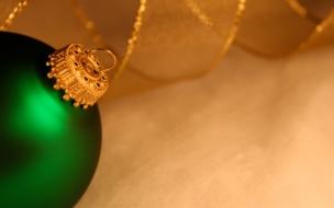 Bolita verde con cinta