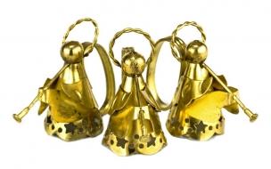 Campana de angeles con trompeta