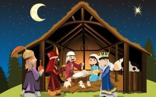 Celebrando el nacimiento de jesucristo