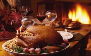 Cena lista en Navidad