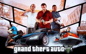 Grand theft auto v wide