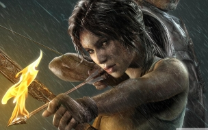 2013 Lara Croft Tomb Raider wallpaper