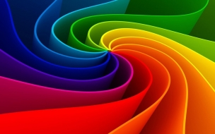 3D Abstract Rainbow