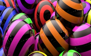 3d Color Ball