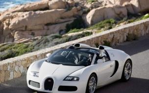 HDTV Bugatti Veyron Cabrio wallpaper