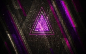 Abstract Design Triangulo
