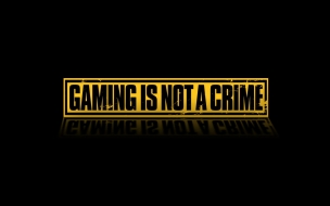 Gaming Is Not A Crime wallpaper