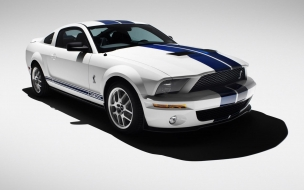 2007 Ford Shelby GT500 Production White 2 wallpape