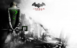 Batman Arkham City Riddler wallpaper