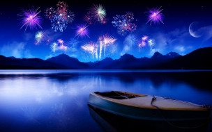 Fireworks at Nightsky