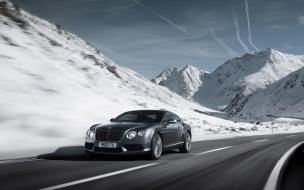 2012 Bentley Continental V8 Winter wallpaper