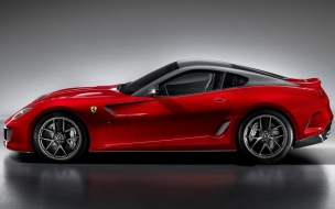 2010 Ferrari 599 GTO Side View wallpaper