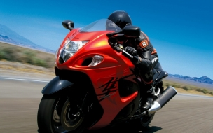 2008 Suzuki Hayabusa Speed wallpaper