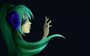 Anime Girl Listening