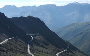 Caminos en montañas