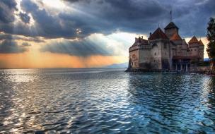 Castillo sobre el mar