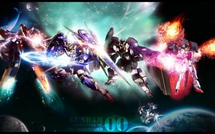 Gundam 00 celestial being