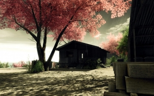 Crysis Screenshots Sakura wallpaper