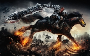 Darksiders War Rides wallpaper