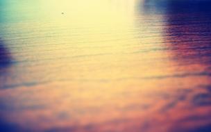 Lago en el atardecer