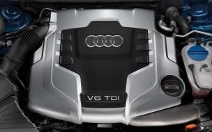 Audi V6 TDI Engine wallpaper