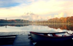 River dock