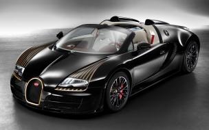 Bugatti veyron grand sport vitesse legend black bess