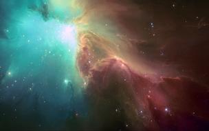 Nebulae sky