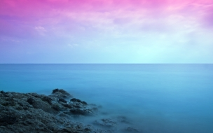Colorful seascape