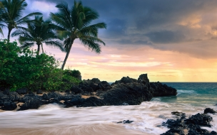 Hawaii secret beache