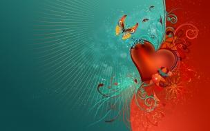 Love heart hdtv