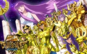 Los Caballeros del Zodiaco Alma de Oro