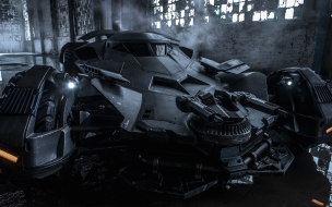 Batman vs Super Man Dawn of Justice 2016 Carro de Batman