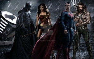 Batman vs Super Man Dawn of Justice 2016 Mujer Maravilla y Aquaman