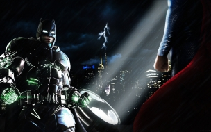 Batman vs Super Man Dawn of Justice 2016 Super Batman